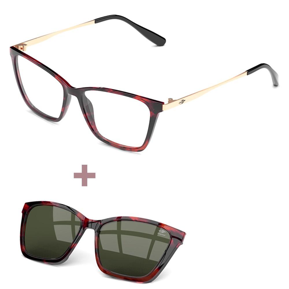 Óculos de Grau e Sol Mormaii Swap 3 Troca Lentes M6081F4757 Tam.57