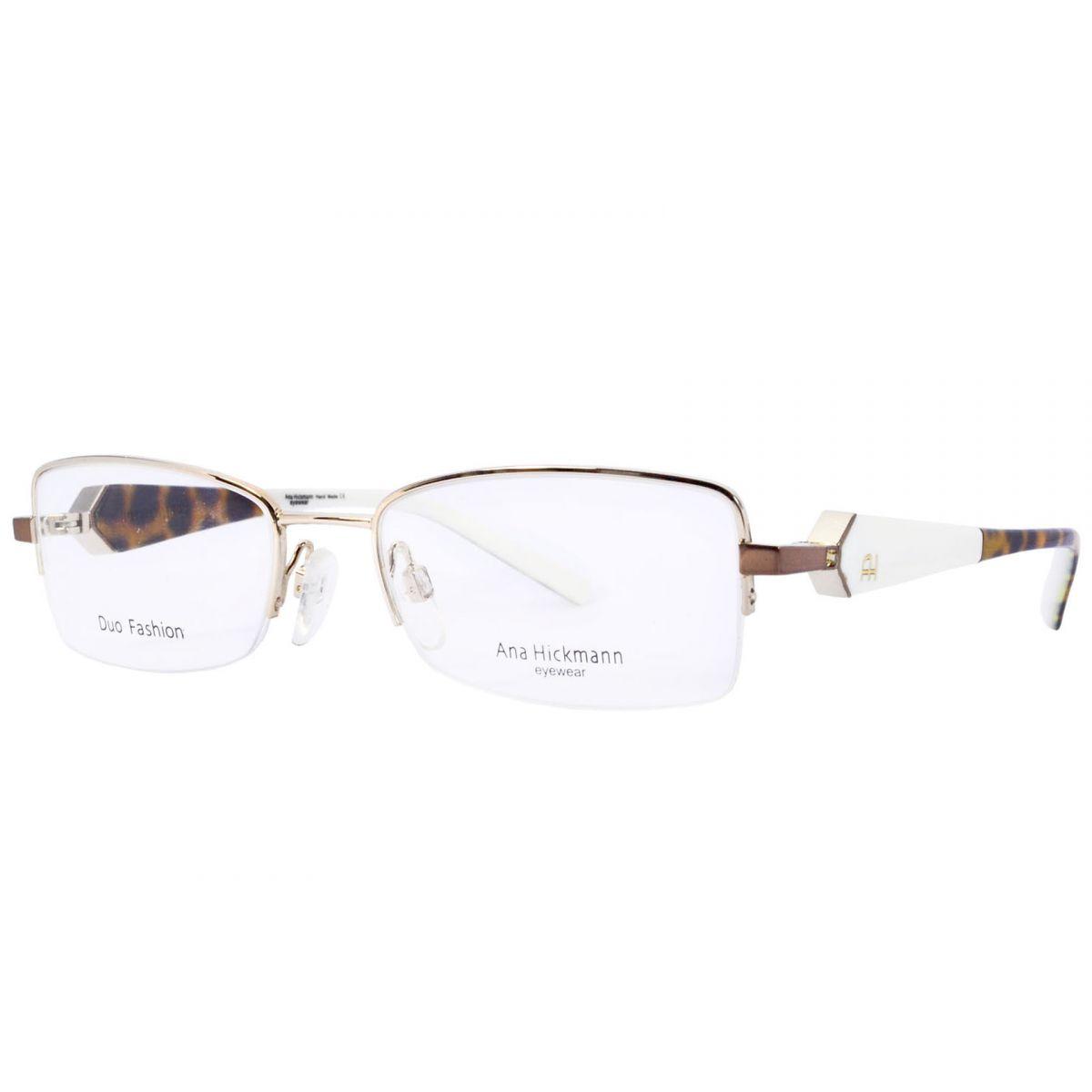 Óculos De Grau Feminino Ana Hickmann AH1208 04E Tam.52Ana Hickmann ... b2a4bafd56