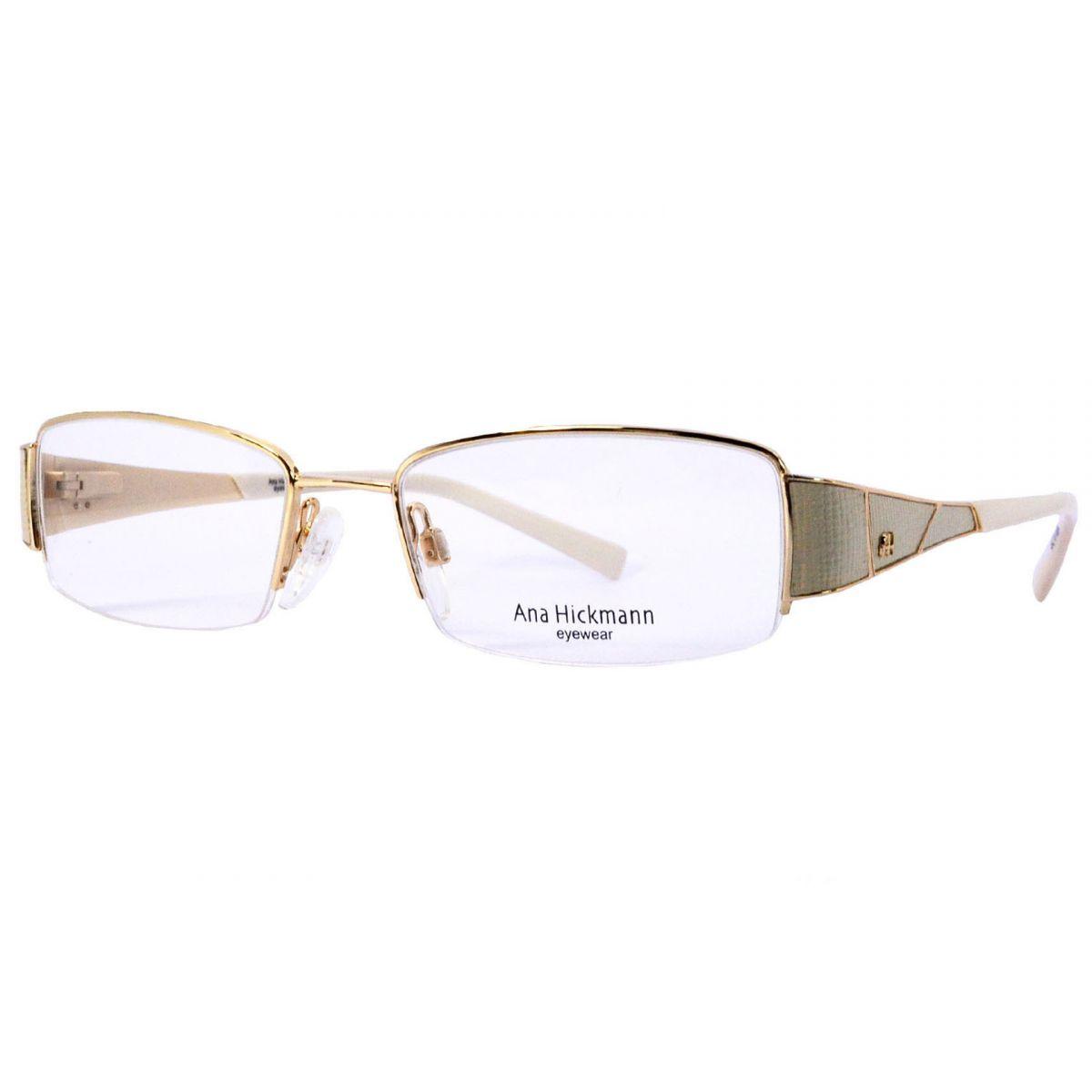 df5894b3b6c04 Óculos De Grau Feminino Ana Hickmann AH1218 04A Tam.50Ana Hickmann ...