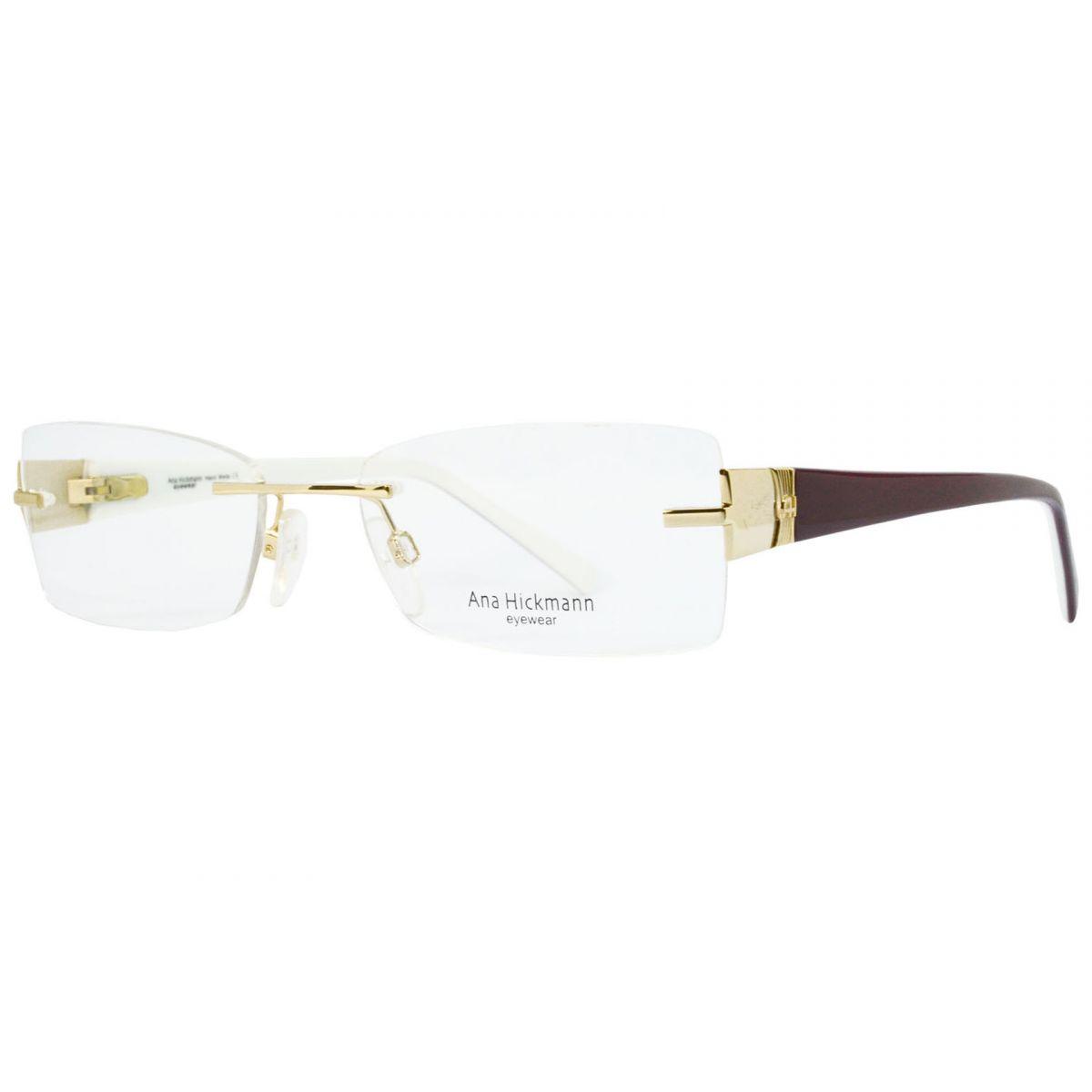 1cceee37f1184 Óculos De Grau Feminino Ana Hickmann AH1239 04A Tam.53Ana Hickmann  OriginalAna Hickmann .