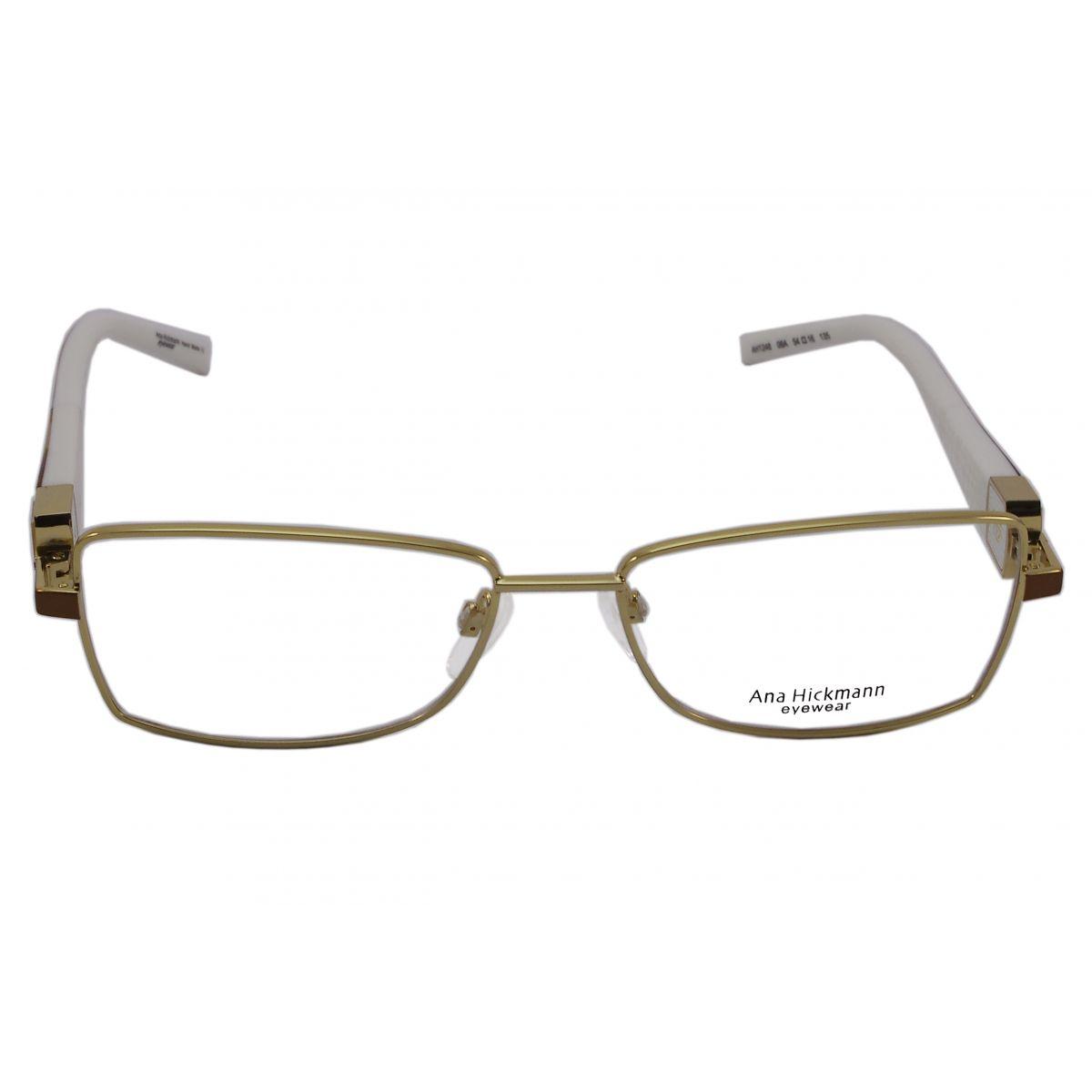Óculos De Grau Ana Hickmann Duo Fashion AH1248 08A Tam.54Ana ... ec54e94c0d