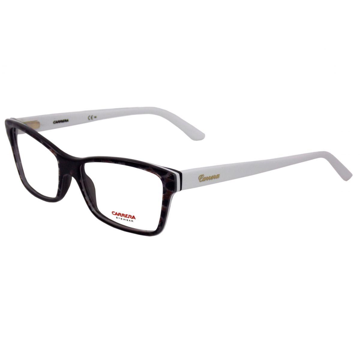 e23275b4e7743 Óculos De Grau Feminino Carrera CA6188 8C6 Tam.53 .