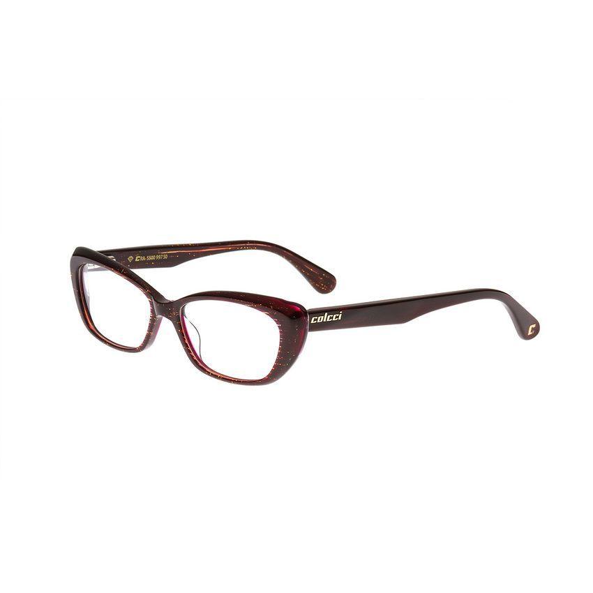 7d8fff2ce Óculos de Grau Feminino Colcci Gatinho 5500 997 Tam.50Colcci ...