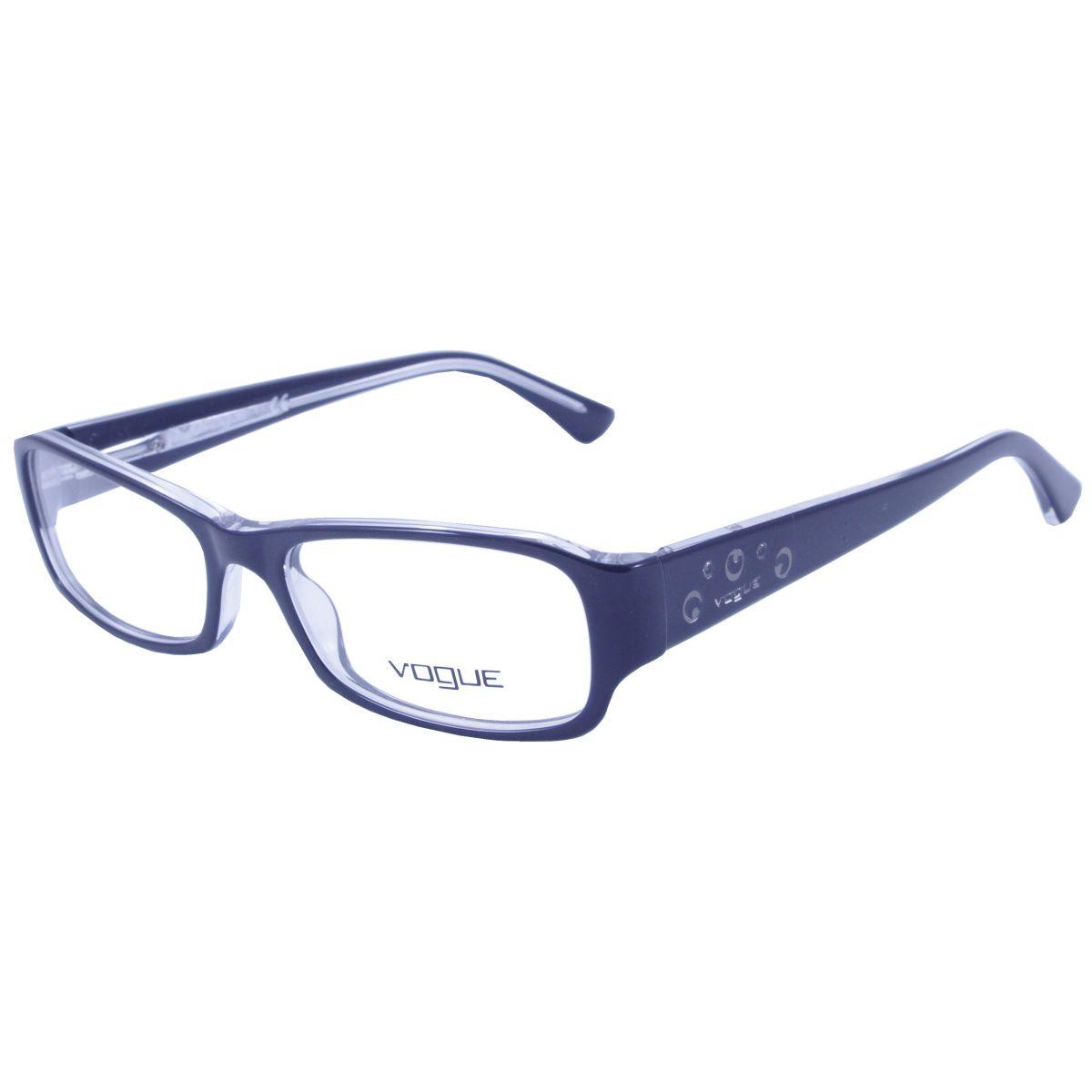 23f2fdb6b7fe3 Óculos De Grau Feminino Vogue VO2758 827 Tam.52