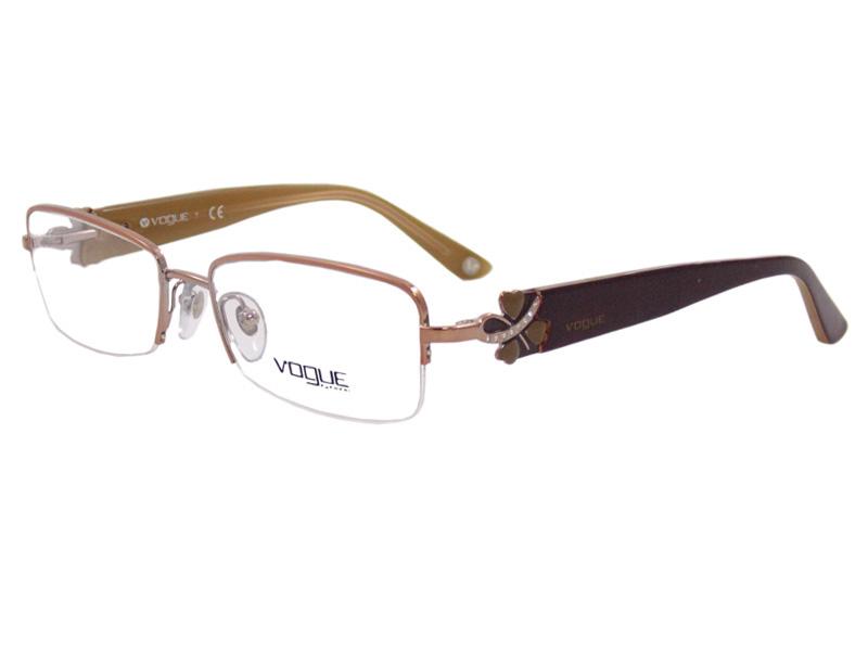 70115a9bace2b ... e4c67d51234c6 Óculos De Grau Feminino Vogue VO3779 813 Tam.53Vogue  OriginalVogue .