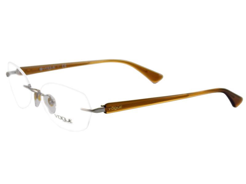 Óculos de Grau Feminino Vogue VO3804 323 Tam.52