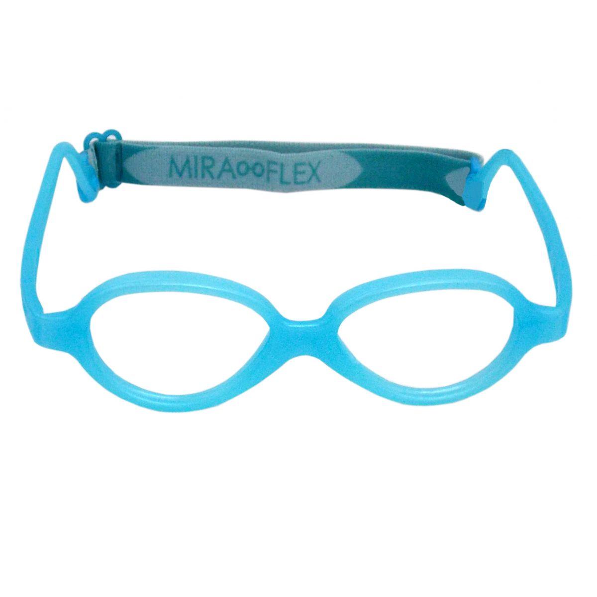 Óculos De Grau Infantil Miraflex Silicone 1 a 3 Anos Baby One Tam.37