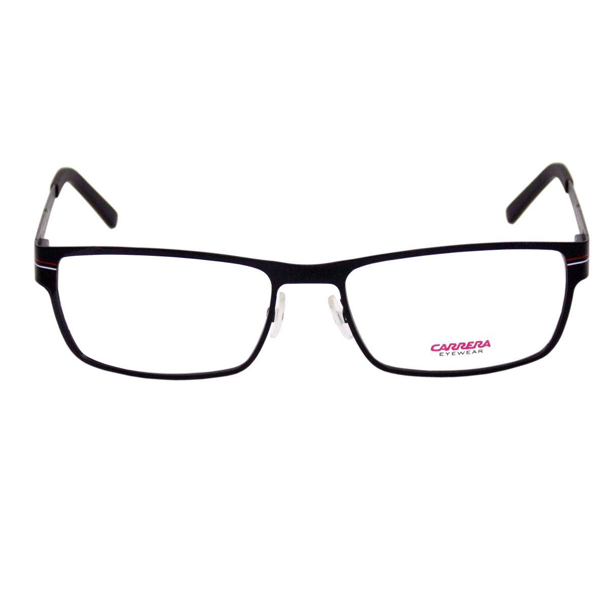 1ff6dfe98b0b5 Óculos De Grau Masculino Carrera CA7582 003 Tam.56Carrera ...