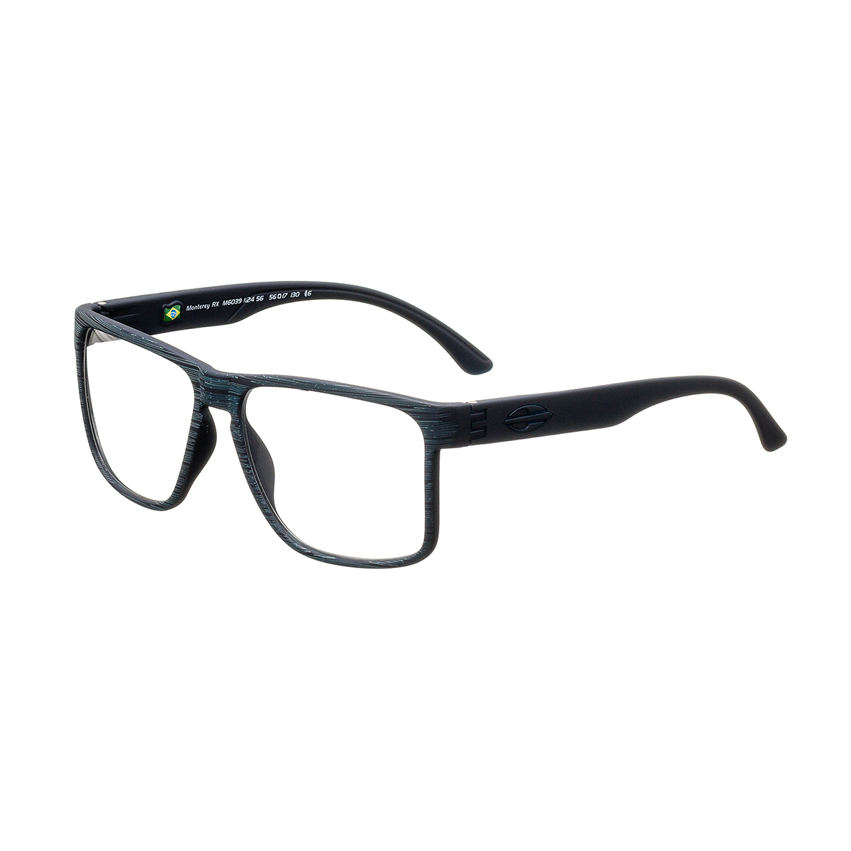 413188fc5 Óculos de Grau Masculino Mormaii Bold M6039 K24 Tam ...