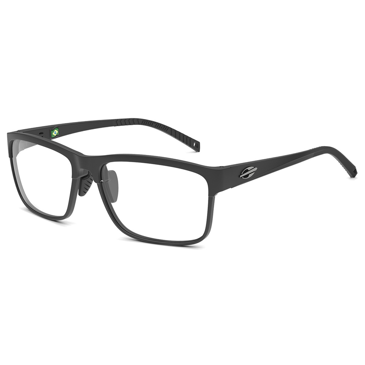 Óculos de Grau Masculino Mormaii Denver M6086A1458 Tam.58