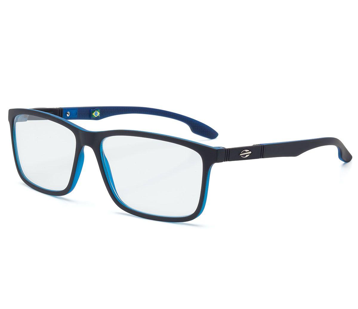 5a10c9e9a95fd Óculos de Grau Masculino Mormaii Prana Preto Azul M6044ABZ55