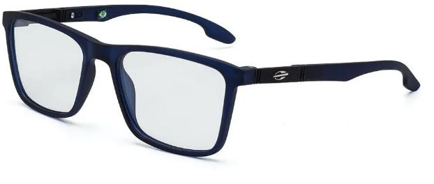 Óculos de Grau Mormaii Asana Masculino Azul Marinho Translúcido M6053 I45 52