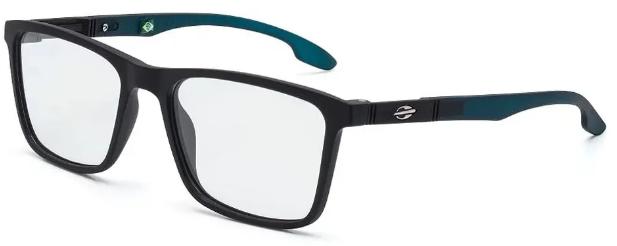 Óculos de Grau Mormaii Asana Masculino Preto M6053 A67 52