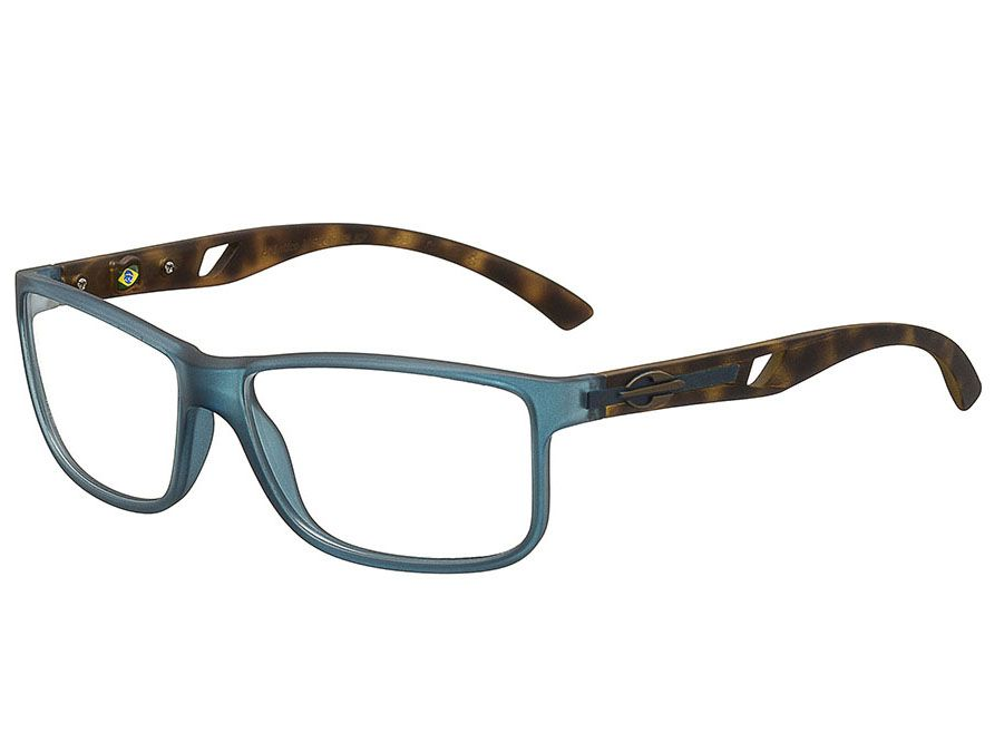 b671b45aa6259 Óculos de Grau Mormaii Atlântico Azul M6007I1257 Tam ...