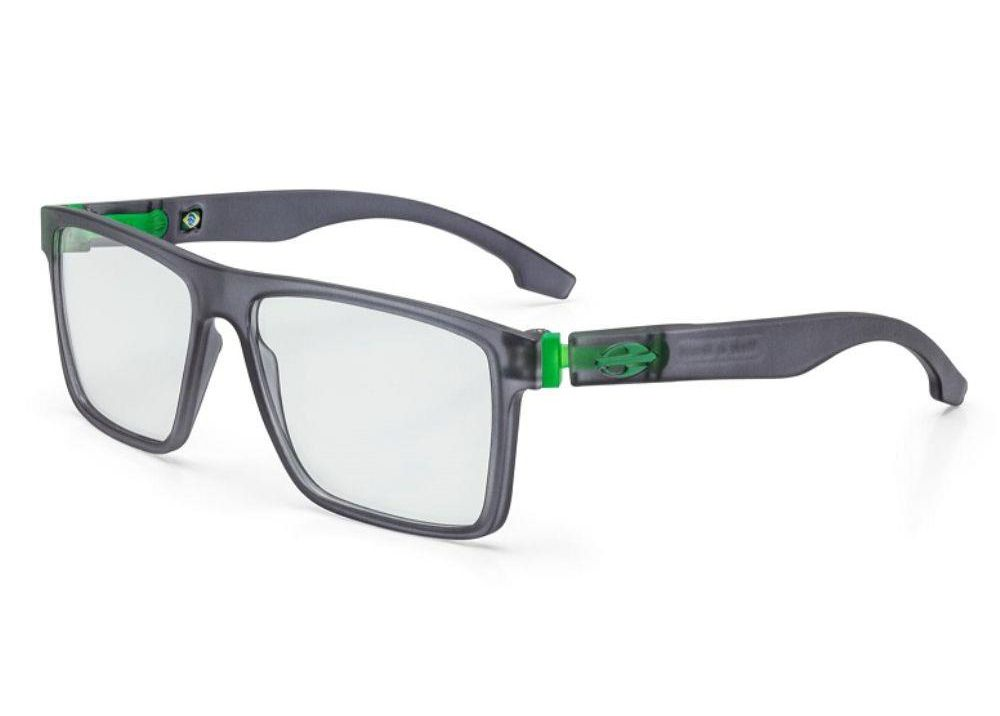 Óculos de Grau Mormaii Banks Flexxxa Fumê Verde M6046D6355