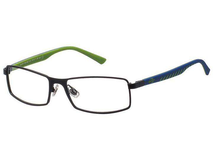 024a9e344f1ce Óculos de Grau Mormaii Masculino Preto MO 1118 867 Tam ...