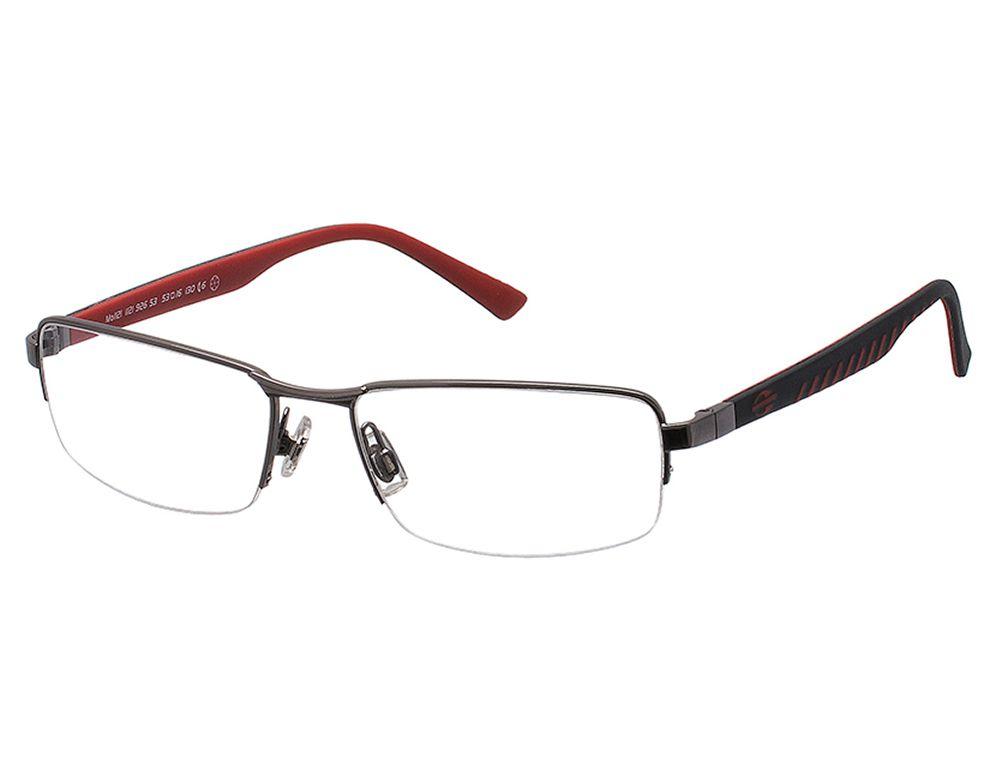 Óculos de Grau Mormaii Masculino Grafite MO 1121 926 Tam ... e6f9711459