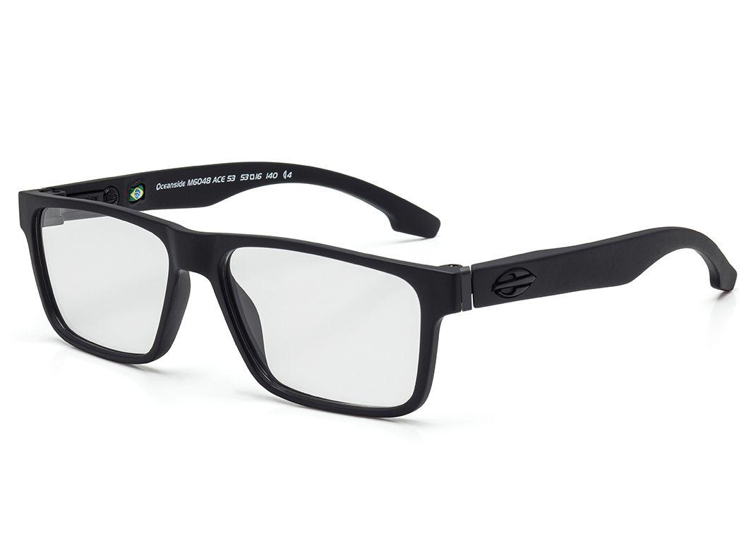 355baef5e Óculos de Grau Mormaii Oceanside Flexxxa Preto ...