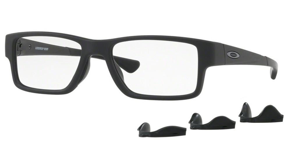 Óculos De Grau Oakley Airdrop Mnp OX8121 01 Tam.55Oakley ... ffd0243430