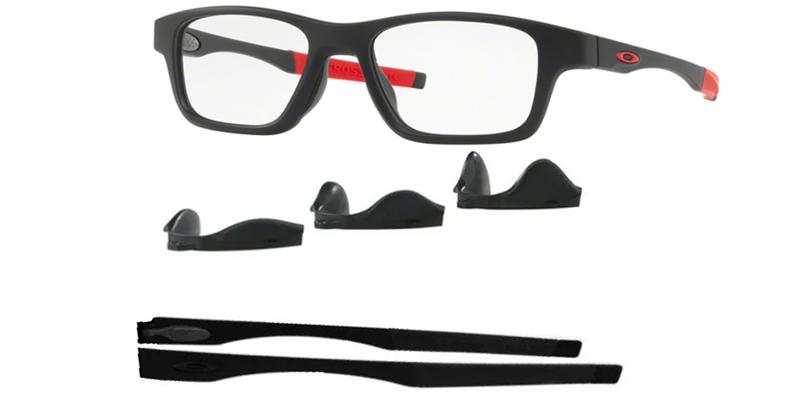 Óculos De Grau Oakley Crosslink Troca Haste OX8117 01 Tam.52