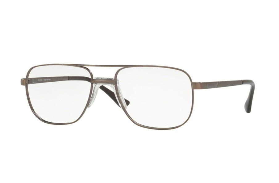 e1bce33783aa9 Óculos de Grau Platini Estilo Aviador Metal P91167 Tam ...
