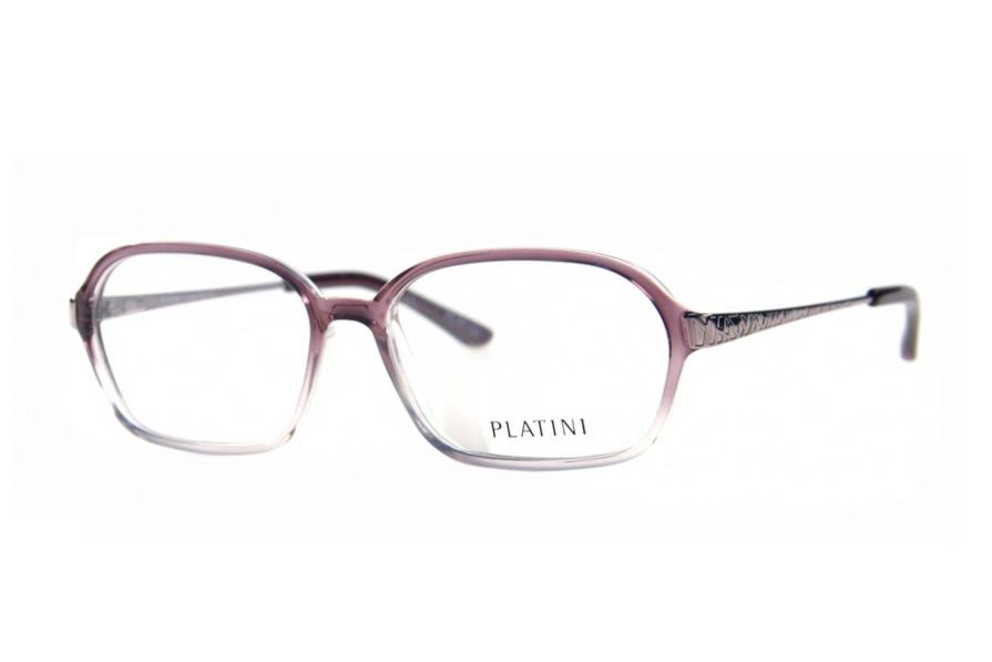 41d1b9f17dd36 Óculos de Grau Platini Feminino Retrô P93126 Tam.54PlatiniPlatini de ...