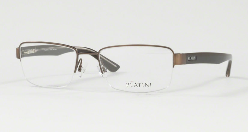 Óculos de Grau Platini Masculino Bronze P91149 Tam.54
