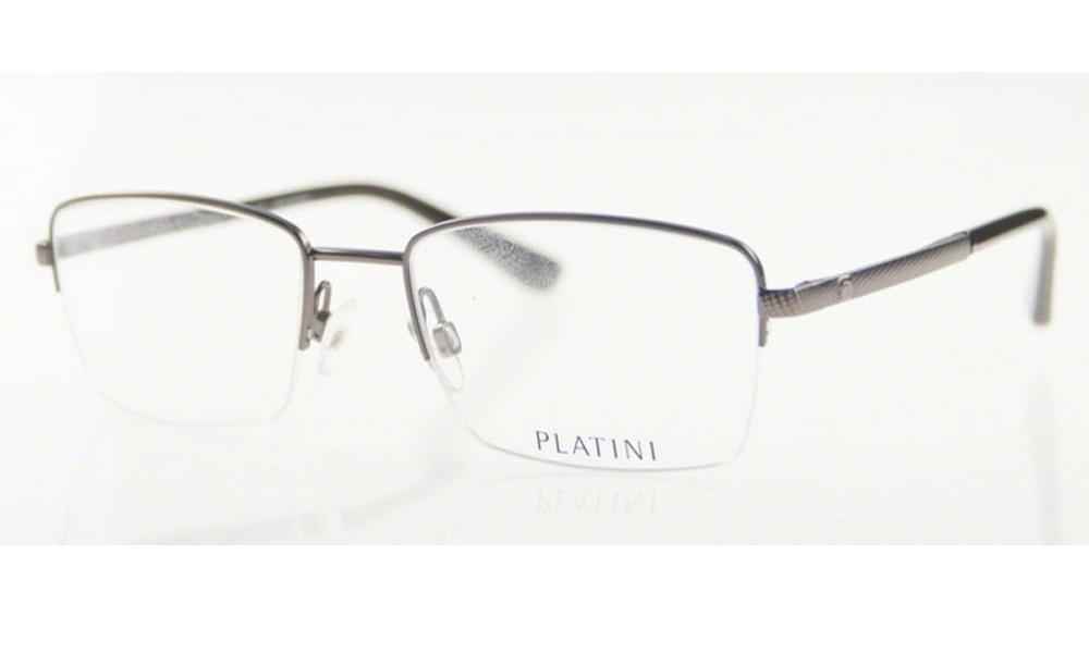 Óculos de Grau Platini Masculino Metal P91160 D984 Tam.52
