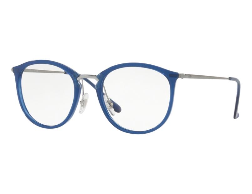 Óculos de Grau Ray Ban Azul Feminino RB7140 5752 Tam. 51