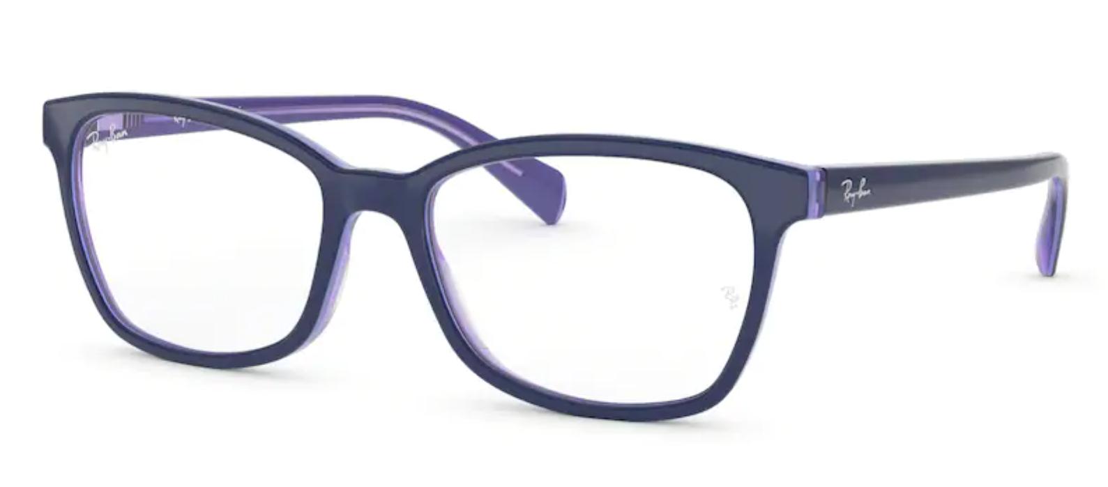 Óculos de Grau Ray Ban Azul Roxo Feminino RB5362 5776 Tam. 54