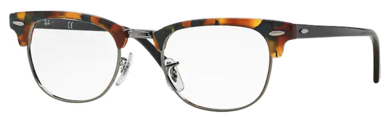 Óculos De Grau Ray Ban Clubmaster Havana RB5154 5493 Tam.49