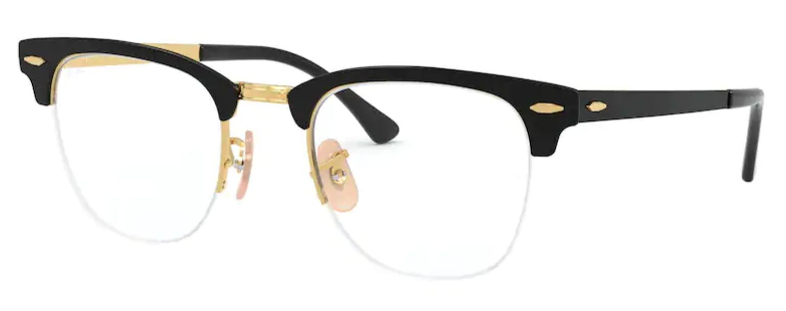 Óculos De Grau Ray Ban Clubmaster Metal 3716 V-M 2890 Tam.50