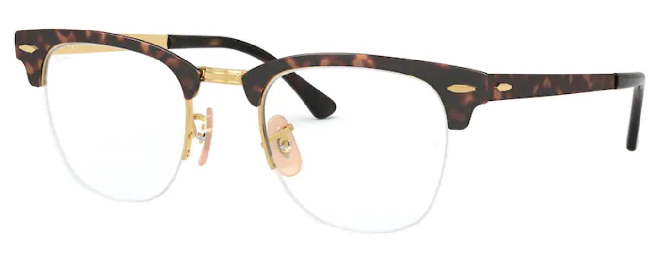 Óculos De Grau Ray Ban Clubmaster Metal RX3716VM 2917 Tam.50