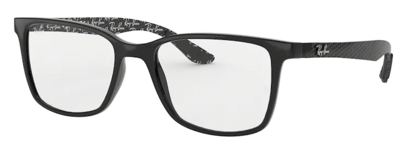 Óculos de Grau Ray Ban Fibra de Carbono RB8905 5843 Tam.55