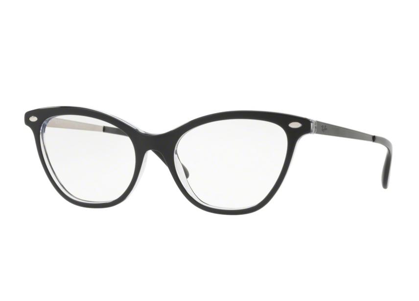 Óculos De Grau Ray Ban Gatinho Preto RB5360 2034 Tam. 54