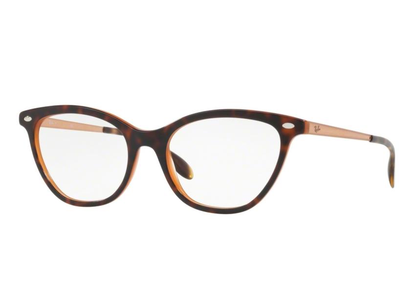 Óculos De Grau Ray Ban Gatinho Tortoise RB5360 5713 Tam. 54