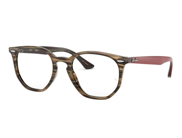 Óculos De Grau Ray Ban Hexagonal RB7151 5802 Tam. 52