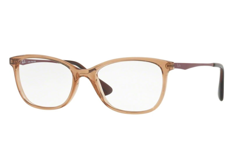 Óculos de Grau Ray Ban Marrom Feminino RB7106L 5706 Tam.53