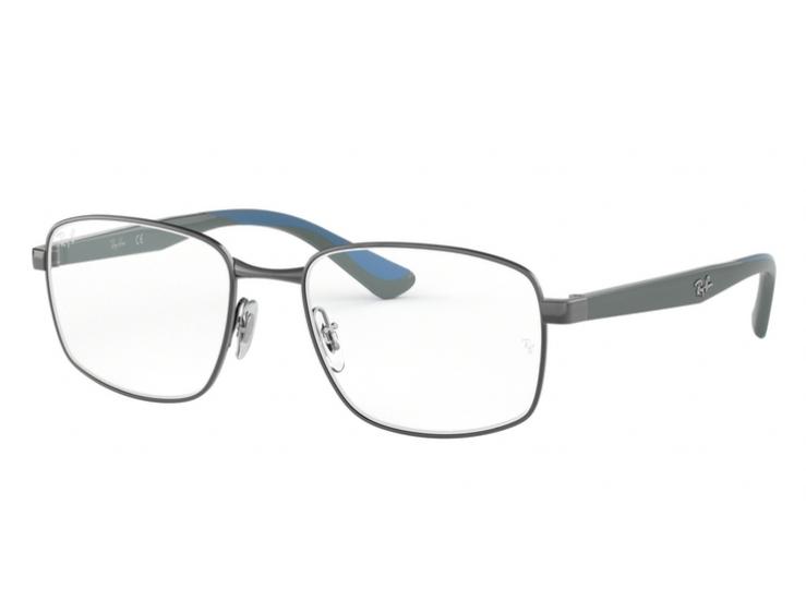 f1e264eeac803 Óculos De Grau Ray Ban Masculino Metal RB6423 2502 Tam. 55Ray Ban ...