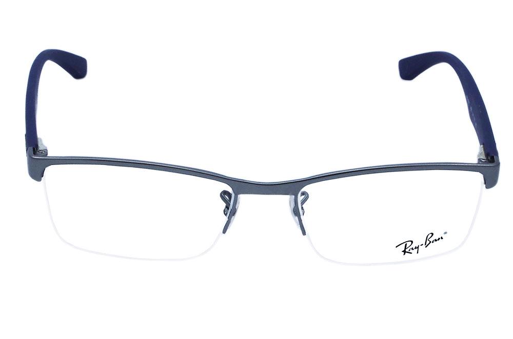 504c7676b24c2 ... Óculos de Grau Ray Ban Masculino RB6301L 2620 Tam.54 excellent quality  86c0c a581c ...