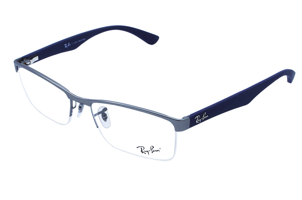 06c5c3110 Óculos de Grau Ray Ban Masculino RB6301L 2620 Tam.54. Image description  Image description Image description