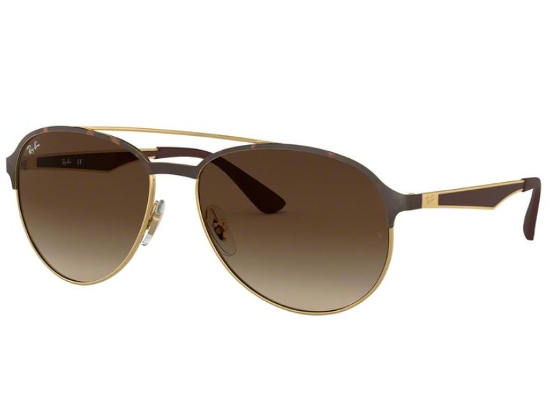 1bf2853400c88 Óculos de Sol Ray Ban Novo Aviador RB3606 9127 13 Tam.59Ray Ban ...