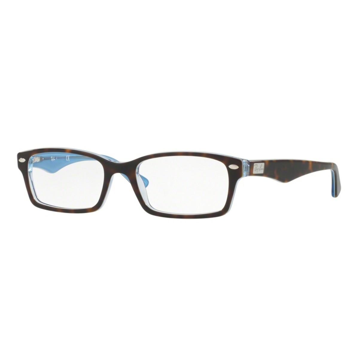 e3b55ffc90d3c Óculos de Grau Ray Ban Pequeno RB5206 5023 Tam.54Ray Ban OriginalRay ...