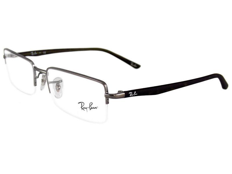 8129586020487 Óculos de Grau Ray Ban Masculino RB6222 2518 Tam. 52Ray Ban ...