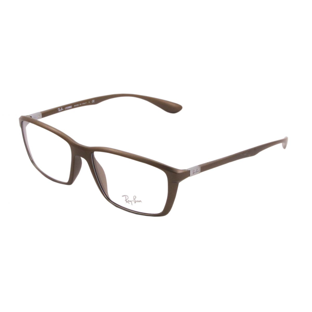 6fff49f82f796 Óculos De Grau Ray Ban Liteforce RB7018 5205 Tam.57. Image description  Image description Image description