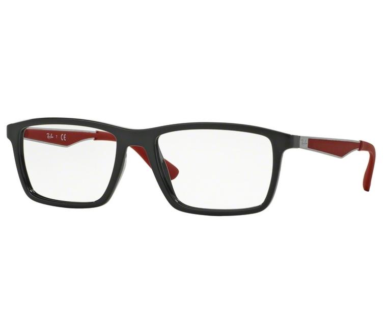 b56e9ae5a Óculos de Grau Ray Ban RB7056 5418 Tam.55Ray Ban OriginalRay ...