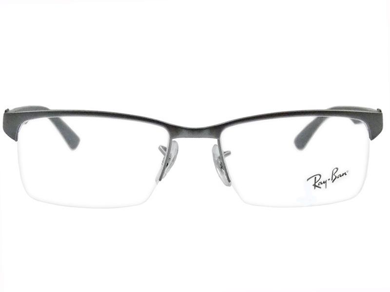 c2c37d632dd33 Óculos De Grau Ray Ban Fibra de Carbono RB8411 2714 Tam 54Ray Ban ...