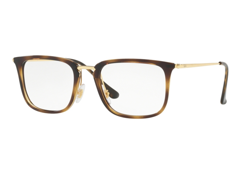 Óculos De Grau Ray Ban Retrô Tortoise RB7141 5754 Tam. 52