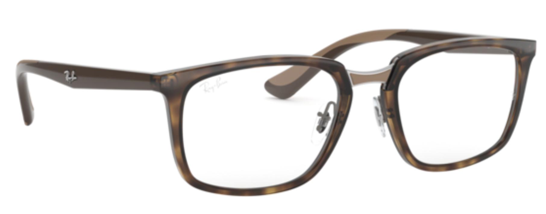 Óculos De Grau Ray Ban Tortoise RB7148 2012 Tam. 54