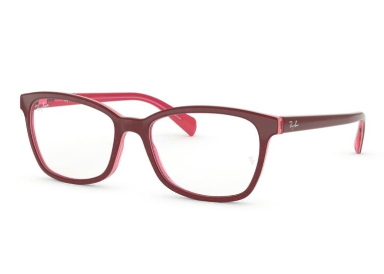 703010174e6f3 Óculos de Grau Ray Ban Vermelho Feminino RB5362 5777 Tam. 54Ray Ban ...